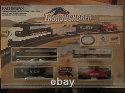 Bachmann 691 Ho Scale Thoroughsbeed Train Set Norfolk Southern Prêt À Courir