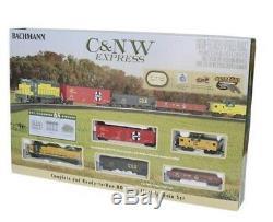 Bachmann Cn & W Express Coffret De Train À Voie Ho Prête À Fonctionner