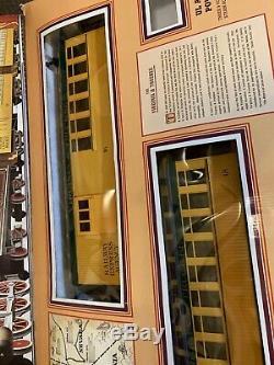 Bachmann Collines D'or Expriment Ensemble À L'échelle G Utilisé Agréable Prêt À Fonctionner 90090 Complète