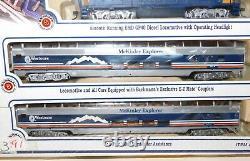 Bachmann Complete - Prêt À Exécuter Ho Scale Electric Train Set Mckinley Explorer
