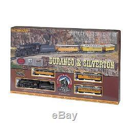 Bachmann Durango Et Silverton Ho Set De Train Électrique Prêt À Fonctionner