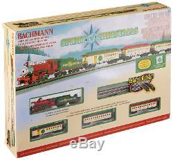 Bachmann Forme L'échelle De N Du Train Électrique Prête À Fonctionner Avec Spirit Of Christmas