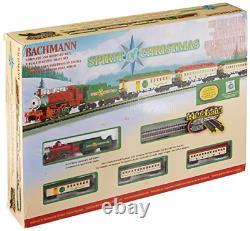 Bachmann Forme L'esprit De Noël Prêt À Courir Ensemble De Train Électrique