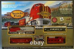 Bachmann Ho Santa Fe Flyer Train Set Prête Au Run 647 Atlas Moteur De Cartel 00647