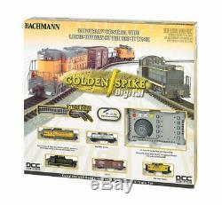 Bachmann Industries Coffret De Train Électrique Numérique Prêt À Fonctionner, Golden Spike