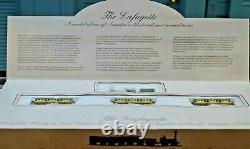 Bachmann Lafayette Complète Prête À Courir Ho Scale B & O Train Set Nos No. 00628