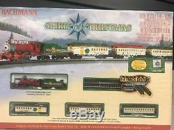 Bachmann Modèle Train Spirit Of Christmas N Échelle Prêt À Fonctionner Électrique Nouveau