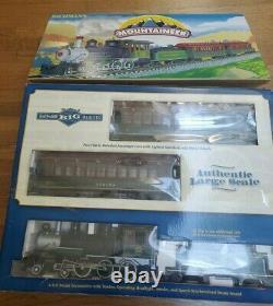 Bachmann Mountaineer 4-6-0 Mountain Locomotive Complet Prêt À Courir Train Set