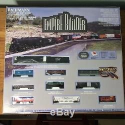 Bachmann N Gauge Empire Builder # 24009 Complet Et Prêt À L'emploi Train