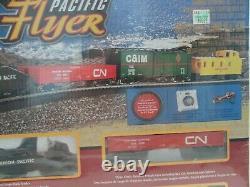 Bachmann Pacific Flyer Complet Et Prêt À Exécuter Ho Scale Electric Train Set Nouveau