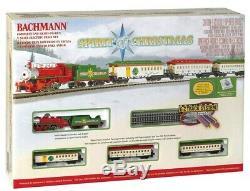Bachmann Spirit Of Christmas - Ensemble De Train Électrique Prêt À Fonctionner, Échelle N, Neuf Scellé