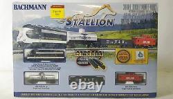Bachmann The Stallion Ensemble De Train Électrique Complet Et Prêt À Rouler À L'échelle N 24025