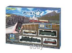 Bachmann Trains 1502, Ho Scale, Ready-to-run Train Set, B&o Blue Star Avec Ez App