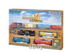 Bachmann Trains 735 Ho Prêt À Fonctionner Train Harvest Express