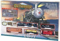 Bachmann Trains Chattanooga Ready To Run 155 Piece Électrique Train Ho Nouveau