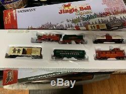 Bachmann Trains Coffret De Train Électrique Prêt À Fonctionner Avec Jingle Bell Express