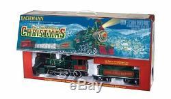 Bachmann Trains De Nuit Avant Noël Prêt À Courir Électrique Train Grande