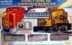 Bachmann Trains Digital Commander Prêt À Fonctionner Coffret De Train Équipé Ho