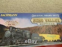 Bachmann Trains Echo Valley Prêt-à-run Ho Train DCC Son