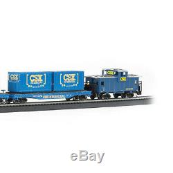 Bachmann Trains Ensemble De Train De Marchandises Prêt À Fonctionner Coastliner, Échelle Ho 734-bt