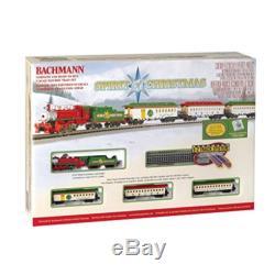 Bachmann Trains Esprit De Noël Prêt À Courir Électrique Train N Echelle