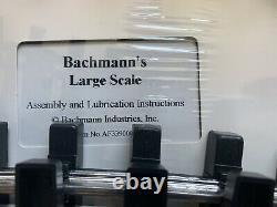 Bachmann Trains G Échelle Nuit Avant Noël Prêt À Courir Ensemble De Train Électrique