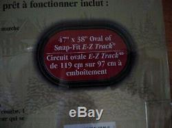 Bachmann Trains Jingle Bell Expressvu Echelle Ho Prêt-à-run Électrique Train Nouveau