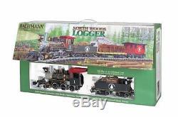 Bachmann Trains Logger North Woods Prêt À Fonctionner Électrique Train Grand G S
