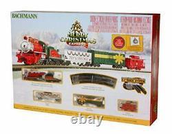 Bachmann Trains Merry Christmas Express Prêt À Exécuter Train Électrique Set N Échelle