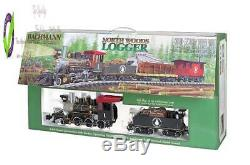 Bachmann Trains North Woods Logr Ready To Run Électrique Train Lar G Sca