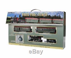 Bachmann Trains On30 Échelle White Pass & Yukon Passagers Set Ready To Run Train