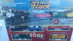 Bachmann Trains Pacific Flyer Prêt-à-run Ho Scale Train Set