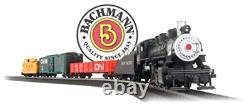 Bachmann Trains Pacific Flyer Ready To Run Electric Train Set Ho Scale Track Nouveau