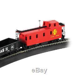 Bachmann Trains Santa Fe Flyer Echelle Ho Prêt-à-run Train Électrique Set 647-bt