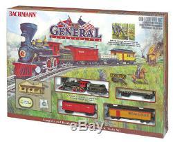 Bachmann Trains The General # 736 Ho, Ensemble De Trains Électriques Prêts À Fonctionnermib