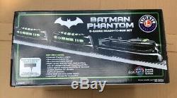 Batman Phantom O-gauge Prêt À Fonctionner Set Trains Lionel DC Comics Nouveau