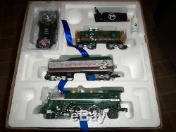Bnib Lionel Lion Chief Coffret De Train Télécommandé Prêt À Partir Silver Express