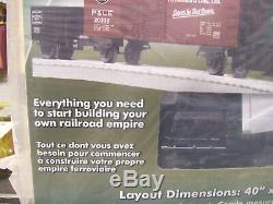 Brand New Lionel Junction Pennsylvania Diesel Prêt-à-run Lionchief Set 6-82972