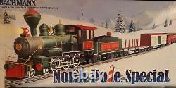Christmas North Pole Special Train Set Large Scale G Bachmann Prêt À Courir