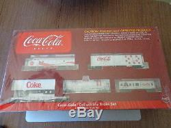 Coca Cola Athearn Coffret De Train Électrique Prêt À Fonctionner À L'échelle 1/87 À L'échelle Coke Toy # 1