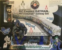DC Comics Batman Lionchief Prêt-à-run M7 Set Subway Lionel 2a