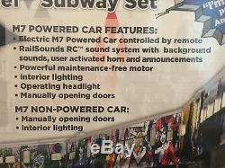 DC Comics Batman Lionchief Prêt-à-run M7 Set Subway (signé Par Gotham Acteurs)