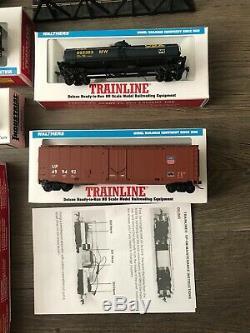Deluxe Prêt À Fonctionner Walthers Trainline Ho Échelle Ensemble Du Canada Modèle De Train Du Pacifique
