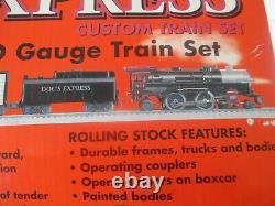 Dr Pepper Docs Express Lionel Train Set Ready To Run O Gauge Nos Shelf Wear