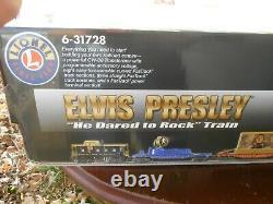Elvis Presley Ready To Run Lionel Train 6-31728 Nouveau Dans La Boîte Ouverte