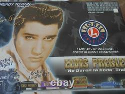 Elvis Presley Ready To Run Lionel Train Set 6-31728 Nouveau Dans La Boîte Ouverte
