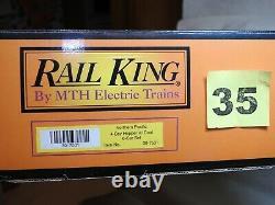 Ensemble De Six Rail King O Échelle 30-7531 Du Pacifique Nord 4 Baies Hoppers Ready To Run