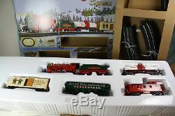 Ensemble De Train Bachmann Ho Jingle Bell Express 00724 Nib Complet / Prêt À Fonctionner