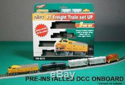 Ensemble De Train De Marchandises K7 À L'échelle N7 De L'union Du Pacifique, Pacific Union, Prêt À Fonctionner DCC # 106-6272dcc