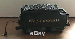 Ensemble De Train G-guage À Piles Prêt À L'emploi Polar Express Utilisé Par Lionel